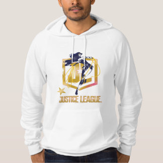 Justice League | Wonder Woman JL Logo Pop Art Hoodie