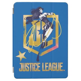 Justice League | Wonder Woman JL Logo Pop Art iPad Air Cover