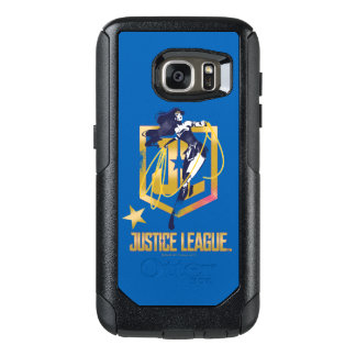 Justice League | Wonder Woman JL Logo Pop Art OtterBox Samsung Galaxy S7 Case