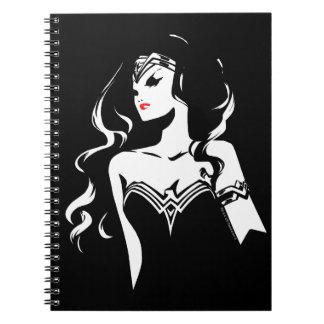 Justice League | Wonder Woman Noir Pop Art Notebook