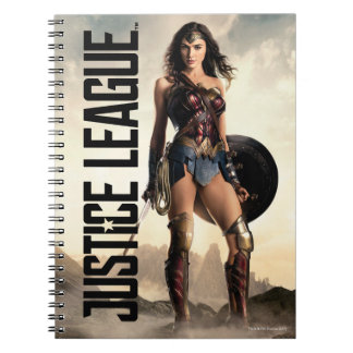 Justice League | Wonder Woman On Battlefield Notebook