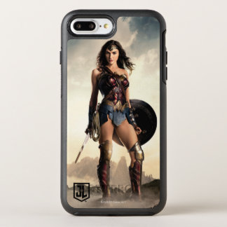 Justice League | Wonder Woman On Battlefield OtterBox Symmetry iPhone 8 Plus/7 Plus Case