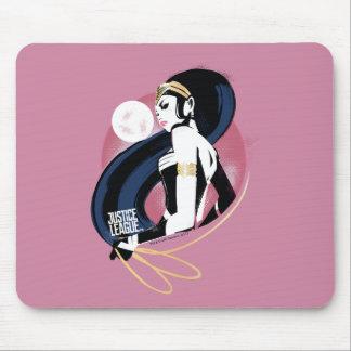 Justice League | Wonder Woman Profile Pop Art Mouse Pad