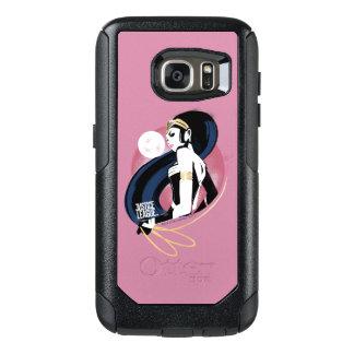 Justice League | Wonder Woman Profile Pop Art OtterBox Samsung Galaxy S7 Case