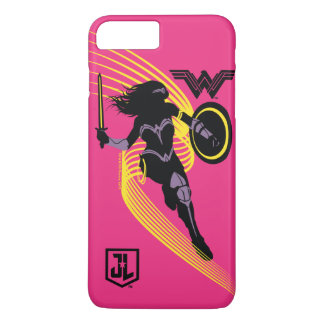 Justice League | Wonder Woman Silhouette Icon iPhone 8 Plus/7 Plus Case