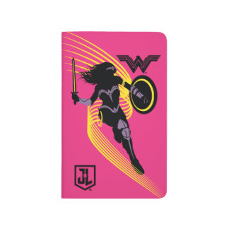 Justice League | Wonder Woman Silhouette Icon Journal