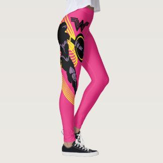 Justice League   Wonder Woman Silhouette Icon Leggings