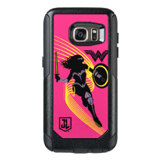Justice League | Wonder Woman Silhouette Icon OtterBox Samsung Galaxy S7 Case