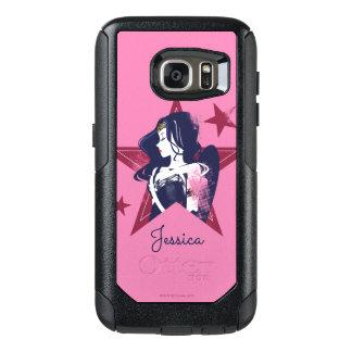 Justice League | Wonder Woman & Stars Pop Art OtterBox Samsung Galaxy S7 Case