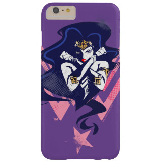 Justice League | Wonder Woman & Symbol Pop Art Barely There iPhone 6 Plus Case