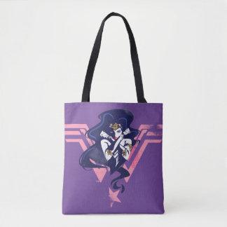 Justice League | Wonder Woman & Symbol Pop Art Tote Bag