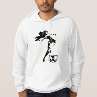 Justice League | Wonder Woman With Lasso Pop Art Hoodie