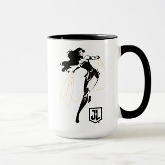 Justice League | Wonder Woman With Lasso Pop Art Mug