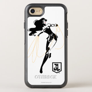 Justice League | Wonder Woman With Lasso Pop Art OtterBox Symmetry iPhone 8/7 Case