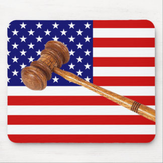 JUSTICE MOUSE PAD