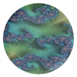 Justice of Fate Fractal Plate