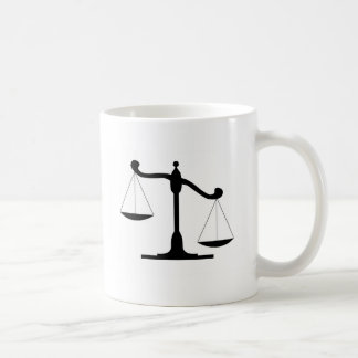 Justice Scale Coffee Mug