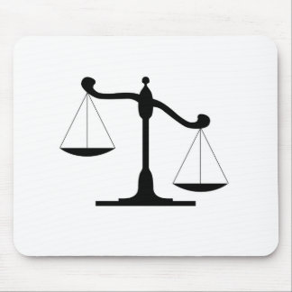 Justice Scale Mouse Pads