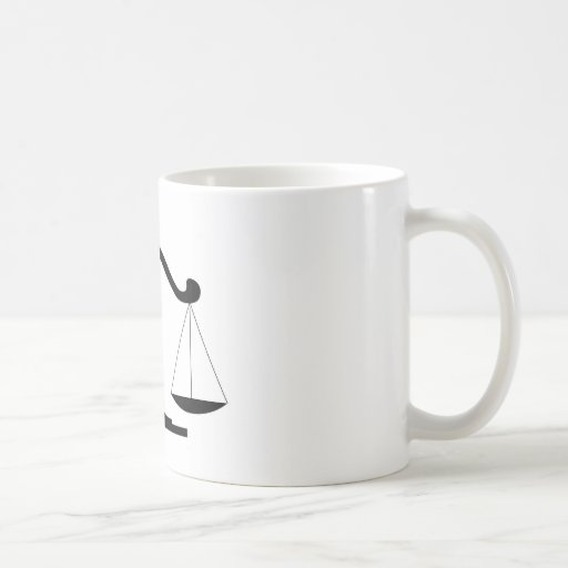 Justice Scale Mug