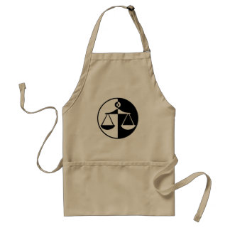 Justice Scales Adult Apron