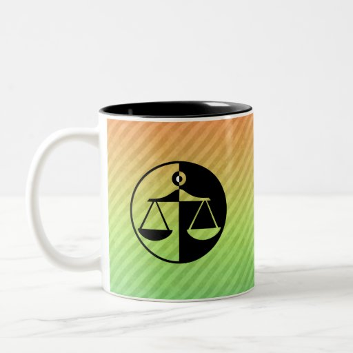 Justice Scales Coffee Mugs