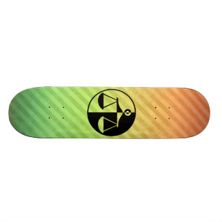 Justice Scales Skate Board