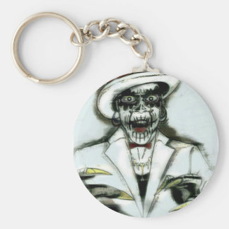 Justify Pope by Greek Garcia Basic Round Button Key Ring
