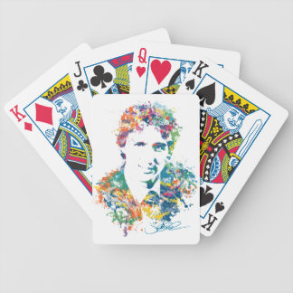 Justin Trudeau Digital Art Bicycle Playing Cards