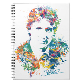 Justin Trudeau Digital Art Notebook