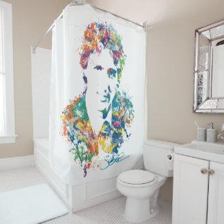 Justin Trudeau Digital Art Shower Curtain