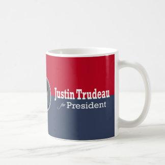 Justin Trudeau for President Coffee Mug