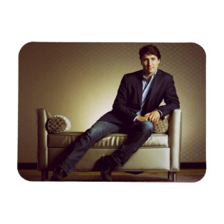 Justin Trudeau in jeans Magnet