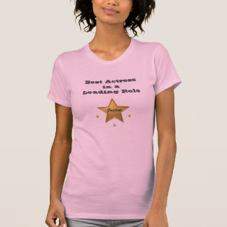 Justine:Best Actress T Shirt