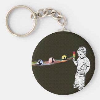 Justin's Popsicle Rainbow Keychain