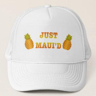 JustMauidPineapple Trucker Hat