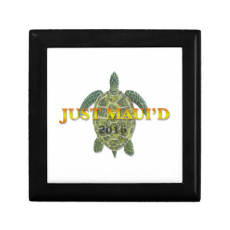 Justmauidseaturtle Small Square Gift Box