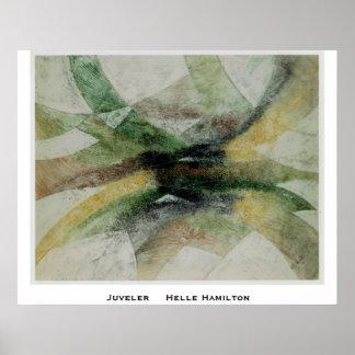 juveler, Juveler     Helle Hamilton Poster