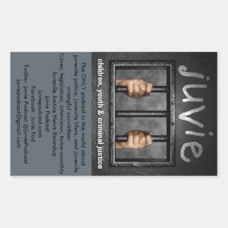 juvie Logo & Info Stickers