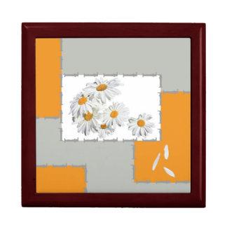 juwelen doosje-Daisies Large Square Gift Box