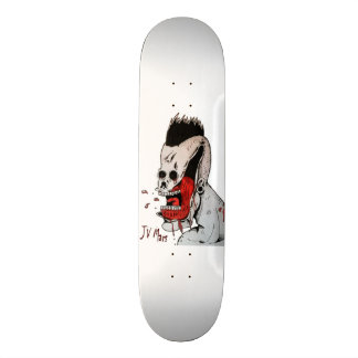 JV Mars - design on skateboard