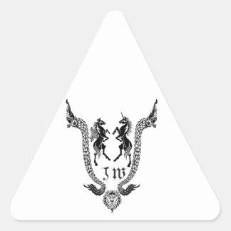 JW Thailand Buddha Triangle Sticker