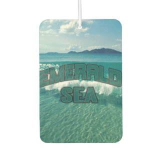 JXG EMERALD SEA SCENT AIR FRESHENER