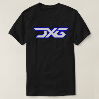 JXG White Blue with Silver Glow T-Shirt