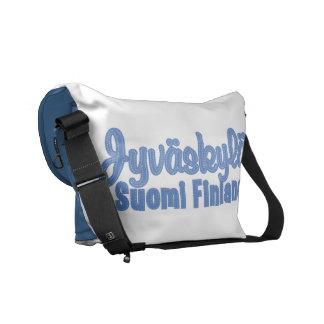 JYVÄSKYLÄ Finland custom messenger bag
