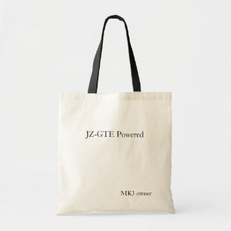 JZ-GTE Powered, MK3 owner Tote Bag
