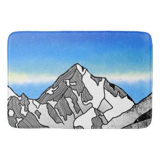 K2 Mount Godwin-Austen Chhogori Bath Mat