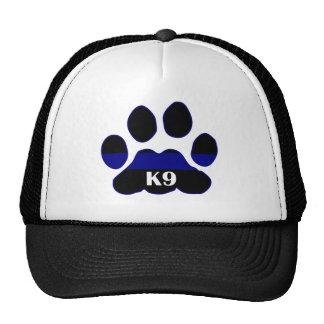 K9 Blue Line Mesh Hats