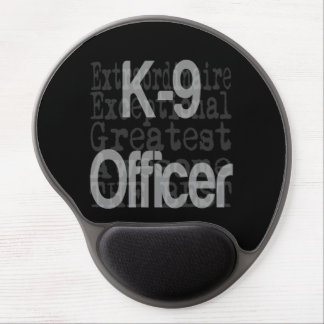 K9 Officer Canine Officer Extraordinaire Gel Mouse Pad