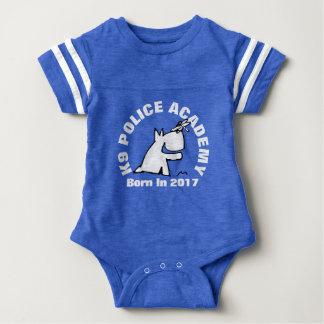 K9 POLICE ACADEMY BABY BODYSUIT