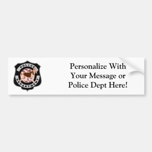 K9 Police Bumper Sticker